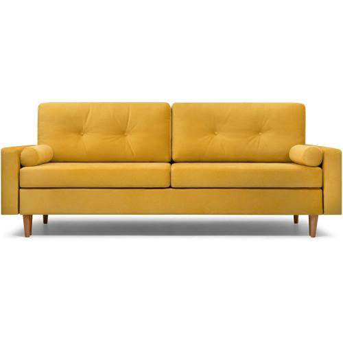 Диван Динс Velvet Yellow